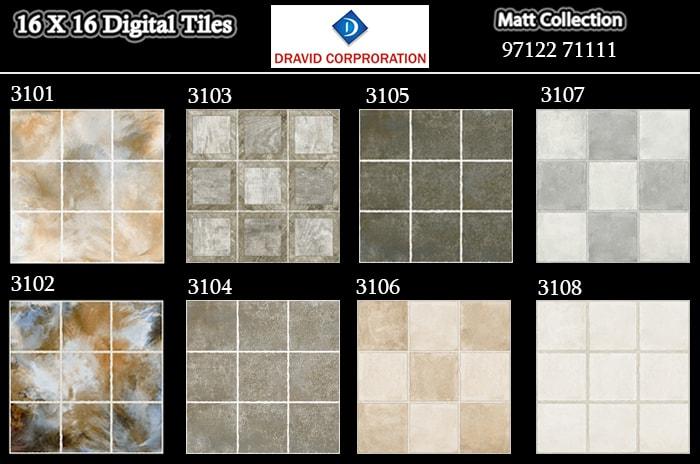 16x16 Digital Matt Collection-series-1