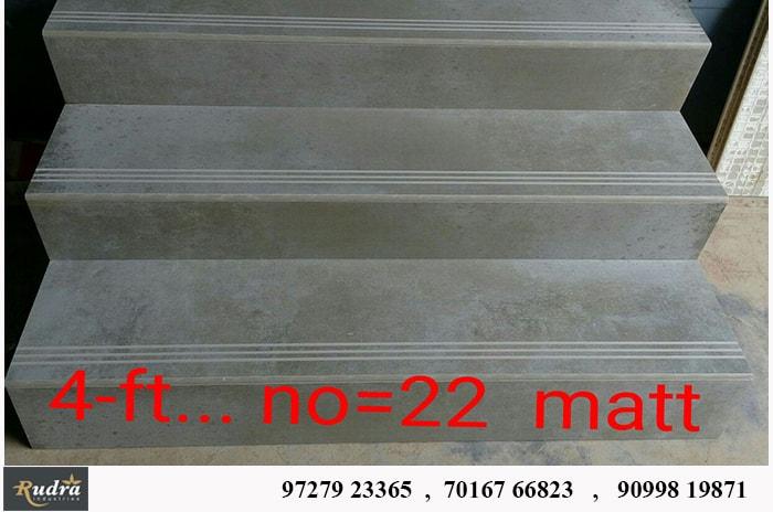Matt No=22 , step and riser